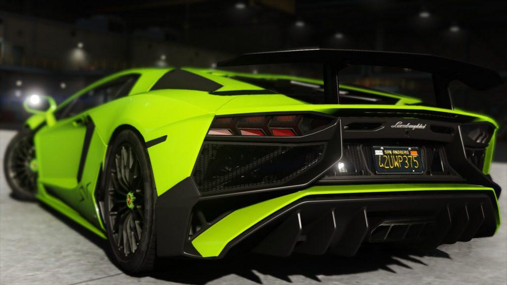 Lamborghini Aventador 2015 LP700-4 [Add-On | para GTA V