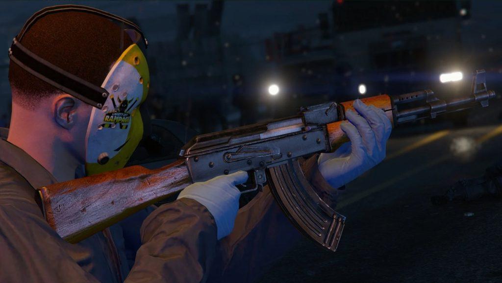 Mod Arma AK-47 Max Payne 3 para GTA V