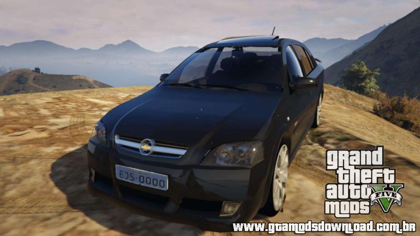 Mod Chevrolet Astra GSI 2.0 16V para GTA V